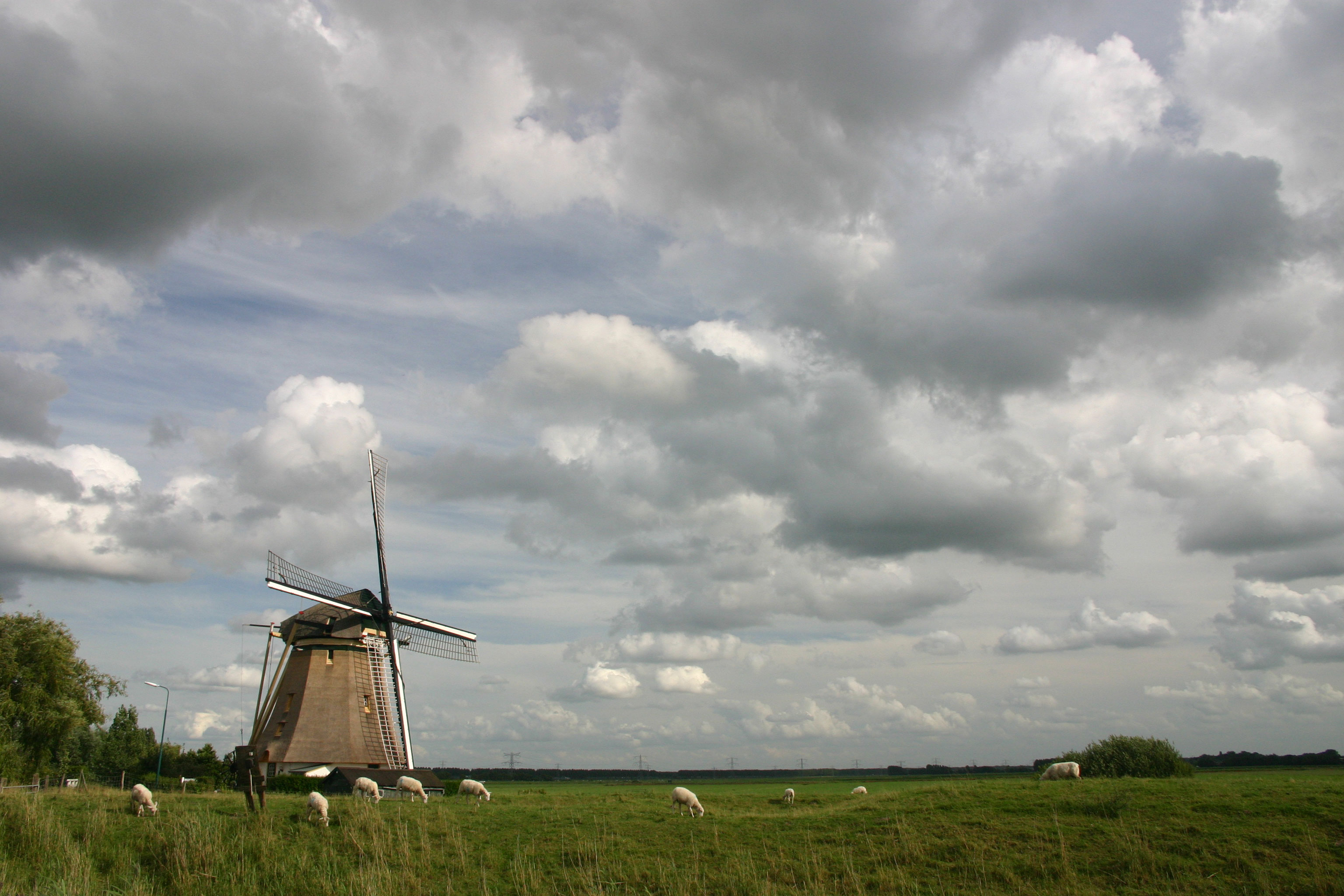 Molen en lucht